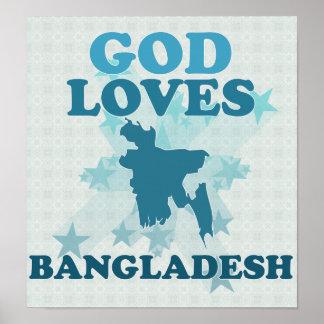 God Loves Bangladesh Poster