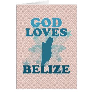 God Loves Belize Cards