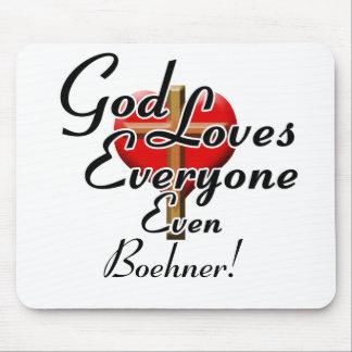 God Loves Boehner! Mouse Pad