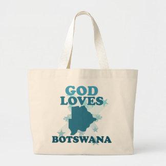 God Loves Botswana Bag