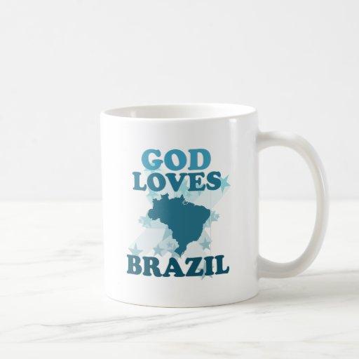God Loves Brazil Mug
