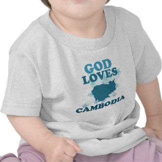 God Loves Cambodia Shirts