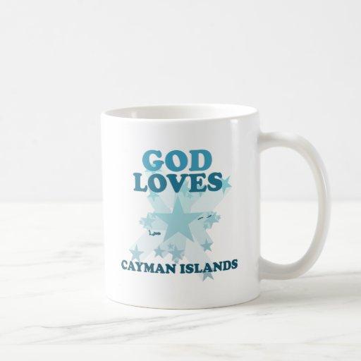 God Loves Cayman Islands Coffee Mug