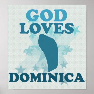 God Loves Dominica Poster