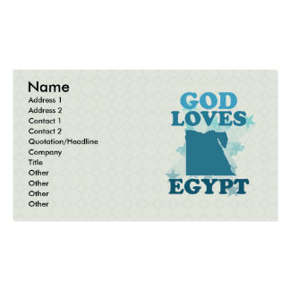God Loves Egypt Double-Sided Standard Business Cards (Pack Of 100)