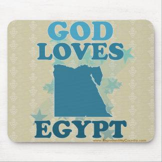 God Loves Egypt Mouse Pad