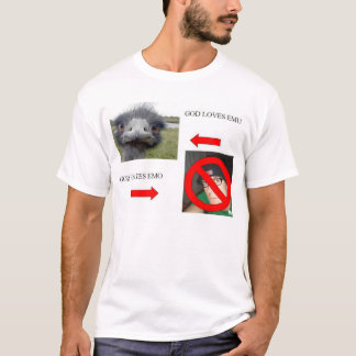 God Loves Emu T-Shirt