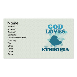 God Loves Ethiopia Double-Sided Standard Business Cards (Pack Of 100)