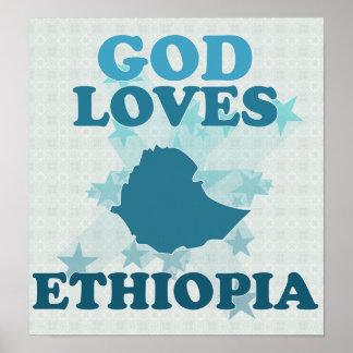 God Loves Ethiopia Poster