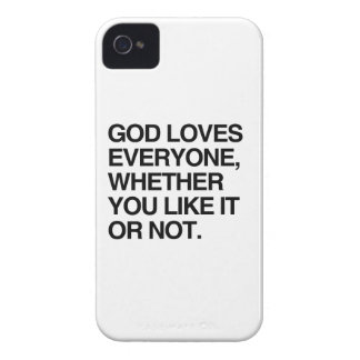 GOD LOVES EVERYONE iPhone 4 COVERS