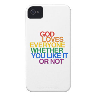 GOD LOVES EVERYONE - Case-Mate iPhone 4 CASE