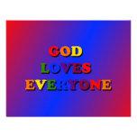 God Loves Everyone Invitation