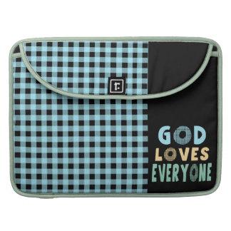 God Loves Everyone MacBook Pro Sleeve