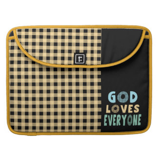 God Loves Everyone Sleeves For MacBooks