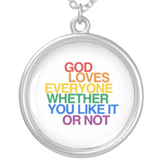 GOD LOVES EVERYONE - NECKLACES