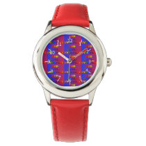 God Loves Everyone Pattern Watch