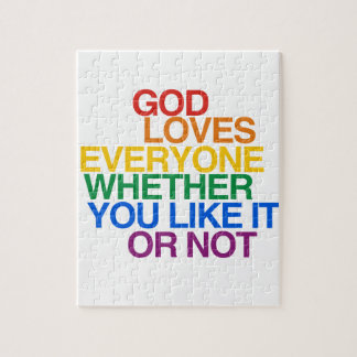 GOD LOVES EVERYONE - PUZZLE