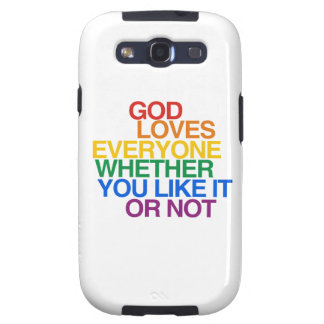 GOD LOVES EVERYONE - SAMSUNG GALAXY S3 CASES