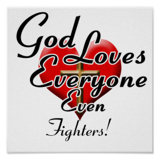God Loves Fighters! Poster