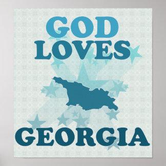 God Loves Georgia Poster