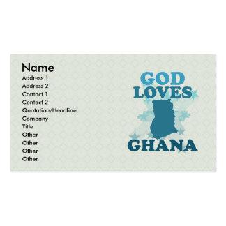 God Loves Ghana Business Card