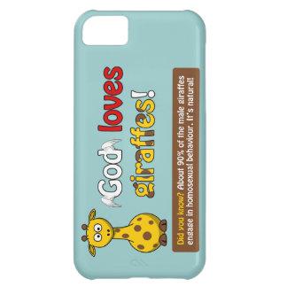 God loves Giraffes Case For iPhone 5C