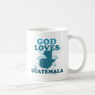 God Loves Guatemala Classic White Coffee Mug