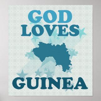 God Loves Guinea Poster