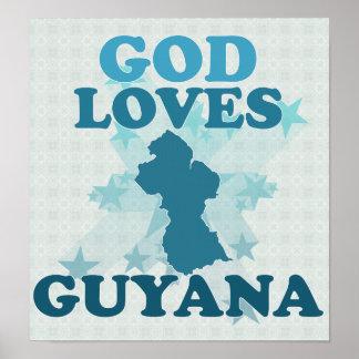 God Loves Guyana Poster
