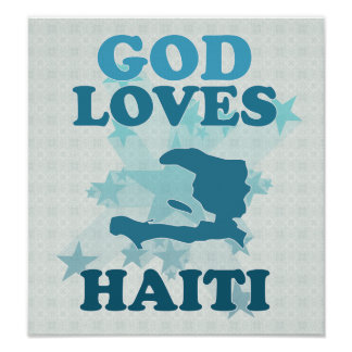 God Loves Haiti Poster