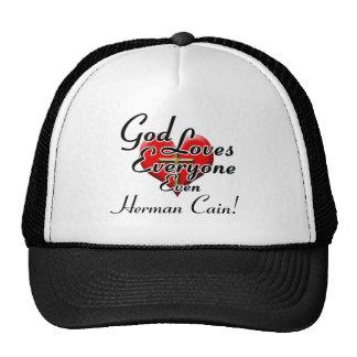 God Loves Herman Cain! Mesh Hats