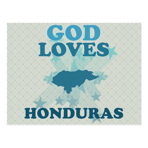 God Loves Honduras Postcards