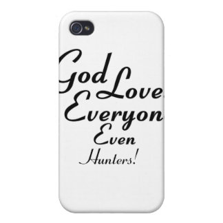 God Loves Hunters! Case For iPhone 4
