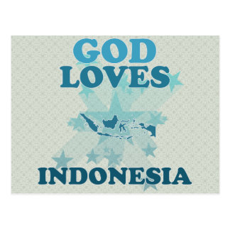God Loves Indonesia Post Cards