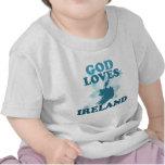 God Loves Ireland Tee Shirts
