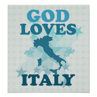 God Loves Italy Poster