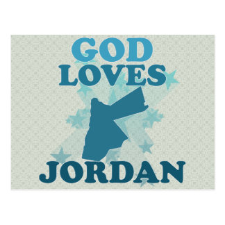 God Loves Jordan Postcards