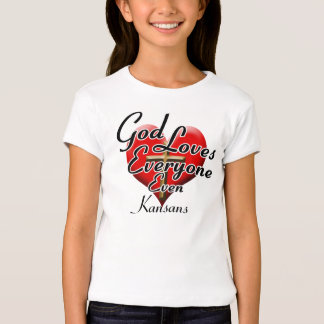 God Loves Kansans T-Shirt