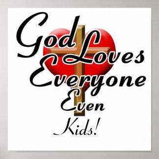 God Loves Kids! Poster