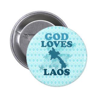 God Loves Laos Pins
