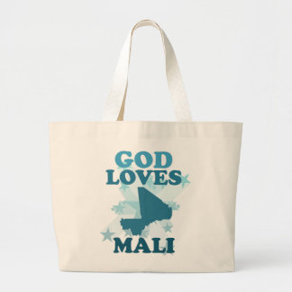 God Loves Mali Tote Bag