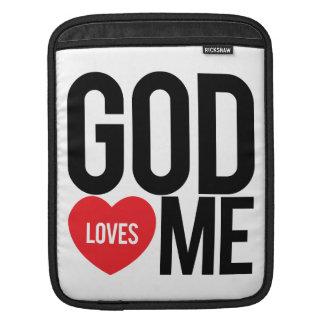 God Loves Me Sleeve For iPads