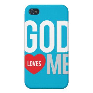 God loves me iPhone 4 case