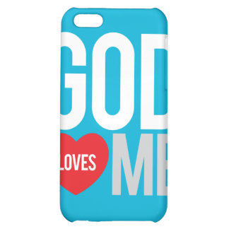 God loves me iPhone 5C case