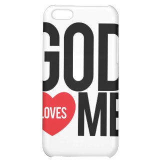 God Loves Me iPhone 5C Cover