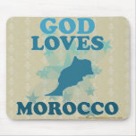 God Loves Morocco Mouse Pad