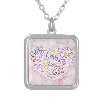 God Loves Necklace