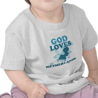 God Loves Netherlands Shirt