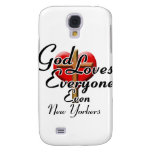 God Loves New Yorkers Galaxy S4 Case