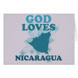 God Loves Nicaragua Card